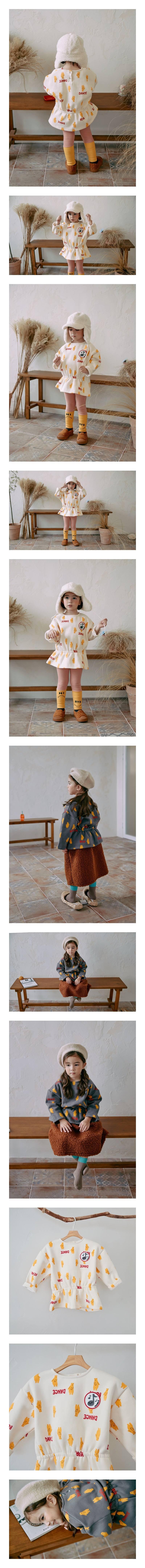 MINIATURE - Korean Children Fashion - #Kfashion4kids - Dancing Bear Top