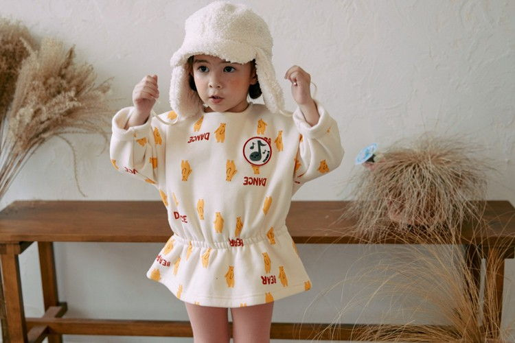 MINIATURE - BRAND - Korean Children Fashion - #Kfashion4kids - Dancing Bear Top