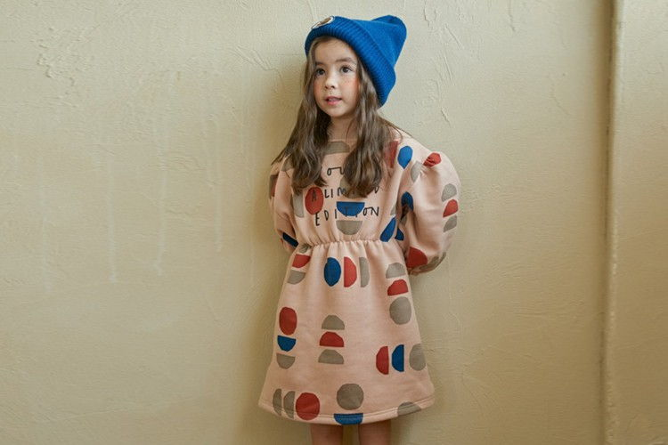MINIATURE - BRAND - Korean Children Fashion - #Kfashion4kids - Log One-piece