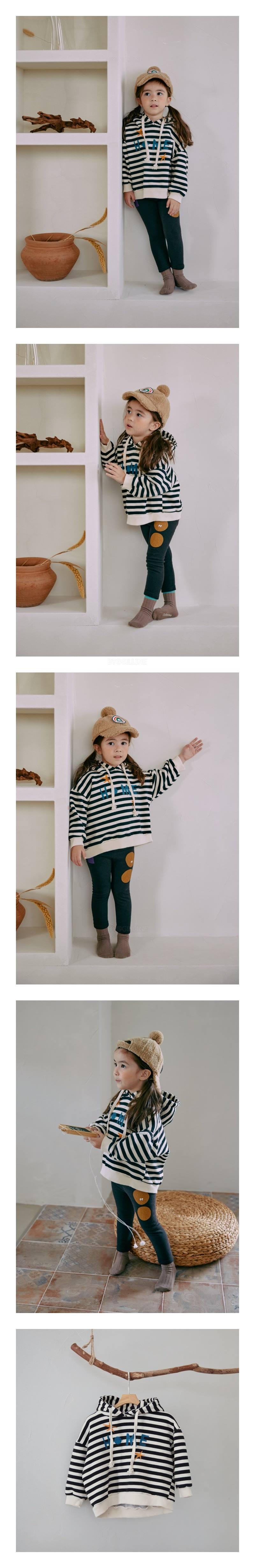 MINIATURE - Korean Children Fashion - #Kfashion4kids - Belive Stripe Tee