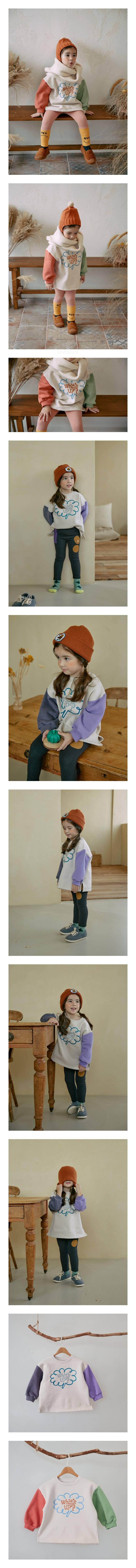 MINIATURE - Korean Children Fashion - #Kfashion4kids - What's Up Long Tee