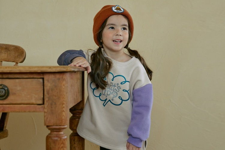 MINIATURE - BRAND - Korean Children Fashion - #Kfashion4kids - What's Up Long Tee