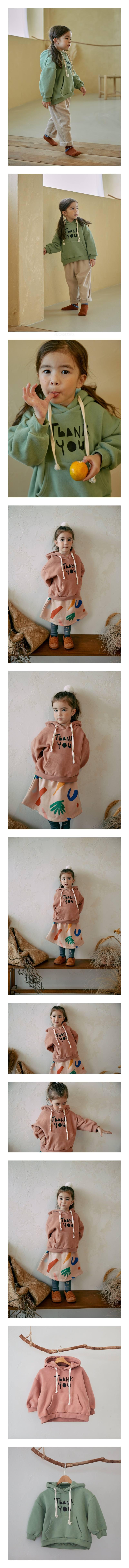 MINIATURE - Korean Children Fashion - #Kfashion4kids - Belive Hoody