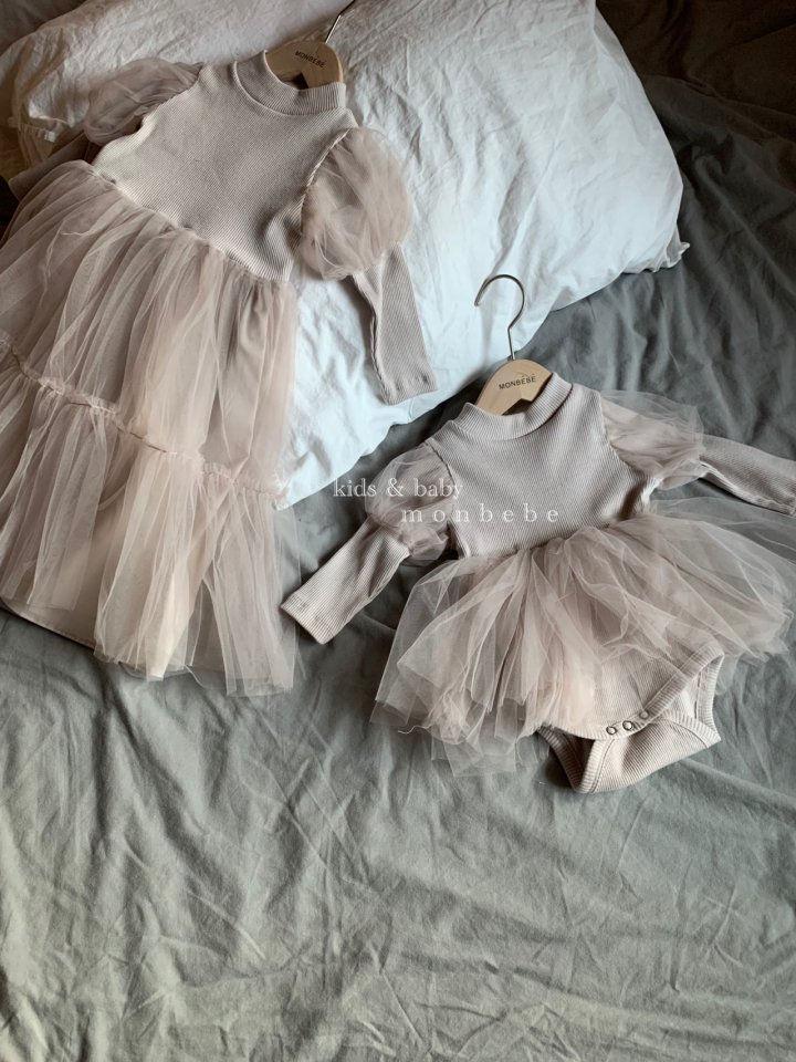 MONBEBE - Korean Children Fashion - #Kfashion4kids - Princess Bodysuit - 4