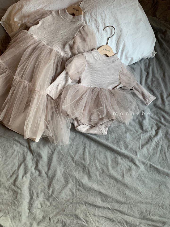 MONBEBE - BRAND - Korean Children Fashion - #Kfashion4kids - Princess Bodysuit