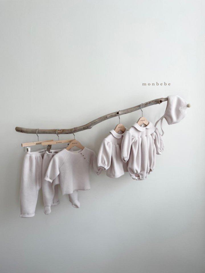MONBEBE - Korean Children Fashion - #Kfashion4kids - Beans Embroidery Bodysuit