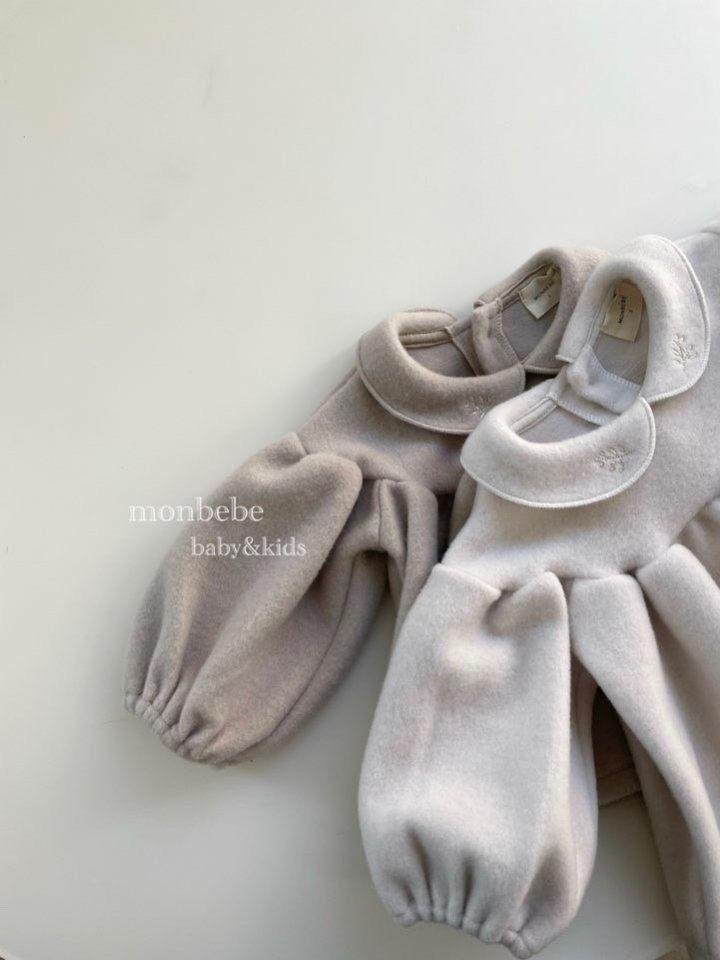 MONBEBE - Korean Children Fashion - #Kfashion4kids - Beans Embroidery Bodysuit - 3