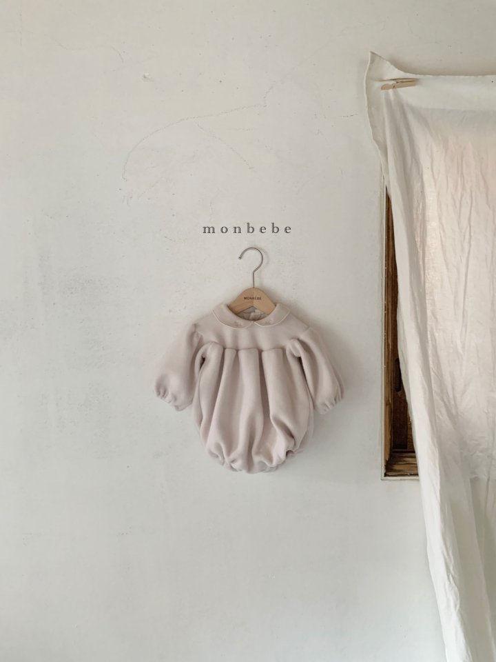 MONBEBE - Korean Children Fashion - #Kfashion4kids - Beans Embroidery Bodysuit - 5