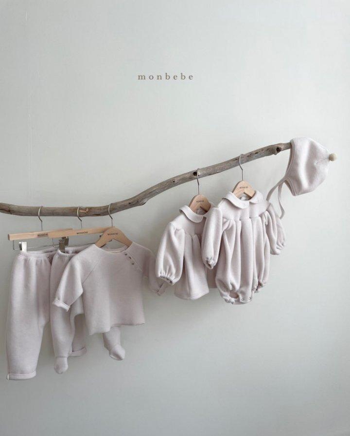 MONBEBE - Korean Children Fashion - #Kfashion4kids - Beans Embroidery Bodysuit - 6