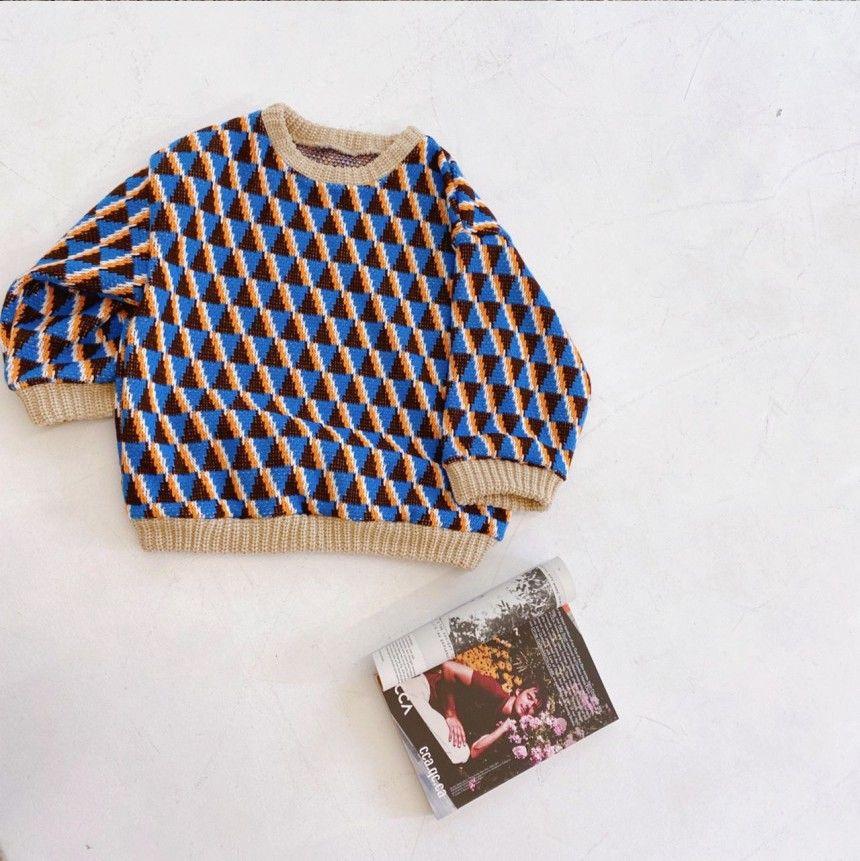 OJODEPAPA - Korean Children Fashion - #Kfashion4kids - Pio Knit Pullover