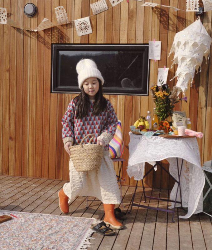 OJODEPAPA - BRAND - Korean Children Fashion - #Kfashion4kids - Pio Knit Pullover