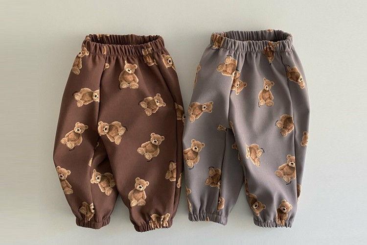 OOTT BEBE - BRAND - Korean Children Fashion - #Kfashion4kids - Teddy Fleece Pants