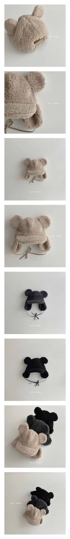 OOTT BEBE - Korean Children Fashion - #Kfashion4kids - Dumble Bear Hat