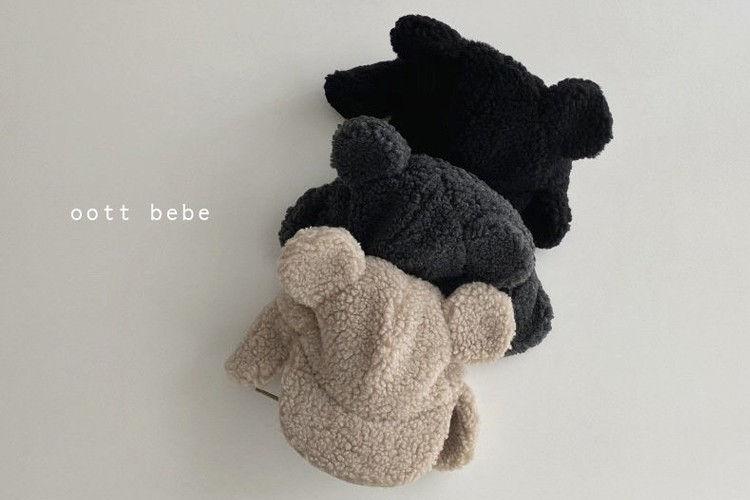 OOTT BEBE - BRAND - Korean Children Fashion - #Kfashion4kids - Dumble Bear Hat