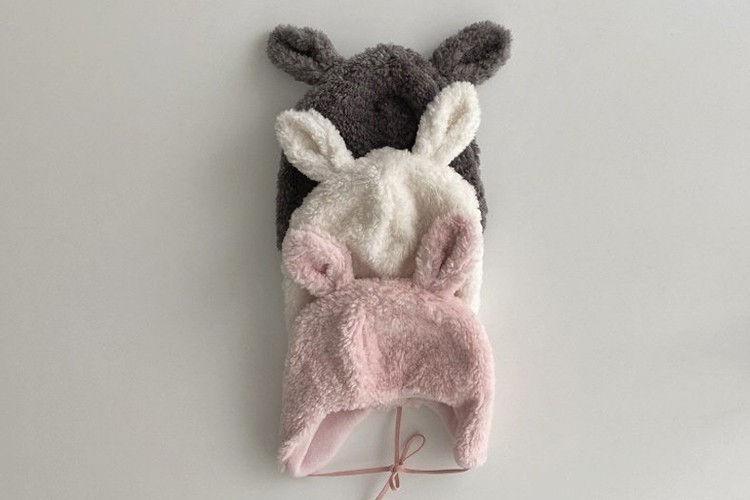 OOTT BEBE - BRAND - Korean Children Fashion - #Kfashion4kids - Rabbit Soft Hat