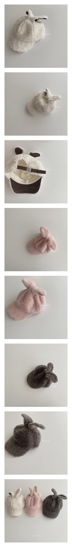 OOTT BEBE - Korean Children Fashion - #Kfashion4kids - Rabbit Dumble Cap