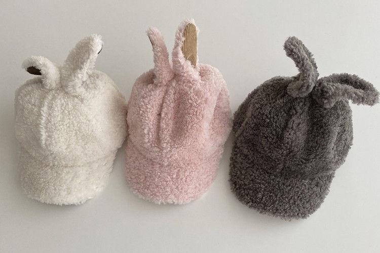 OOTT BEBE - BRAND - Korean Children Fashion - #Kfashion4kids - Rabbit Dumble Cap