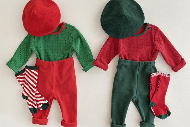 OOTT BEBE - BRAND - Korean Children Fashion - #Kfashion4kids - Christmas Easywear