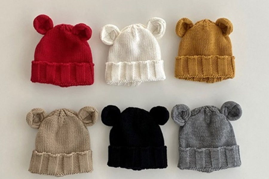 OOTT BEBE - BRAND - Korean Children Fashion - #Kfashion4kids - Mimi Beanie