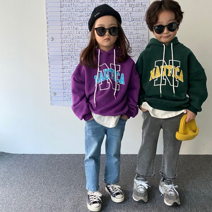 OUR - BRAND - Korean Children Fashion - #Kfashion4kids - Nautica Fleece Hoody