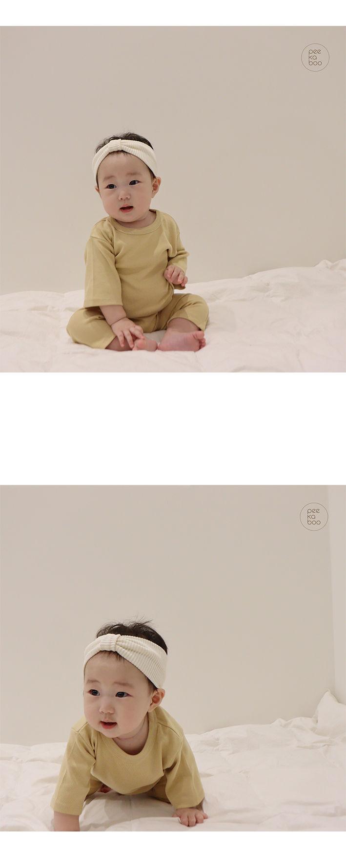 PEEKABOO - Korean Children Fashion - #Kfashion4kids - Baby Cozy Pajamas - 2