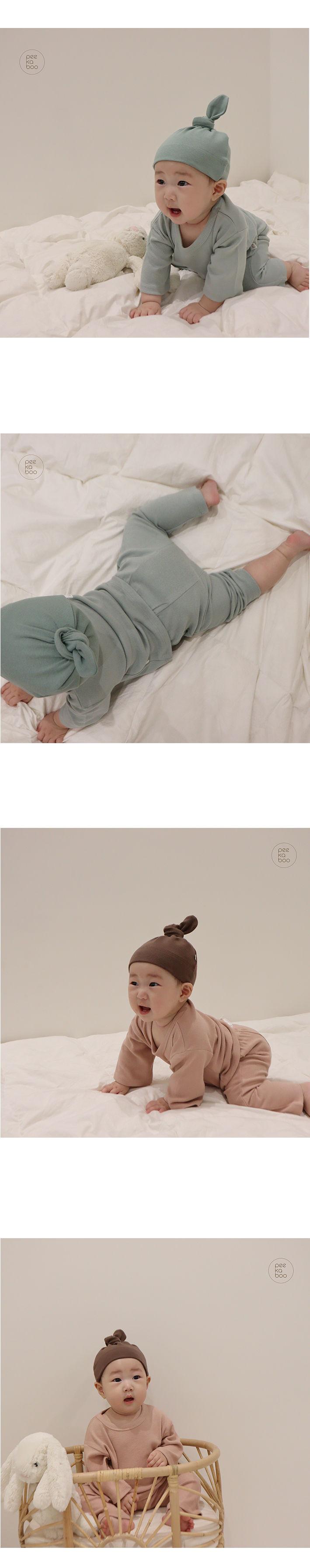 PEEKABOO - Korean Children Fashion - #Kfashion4kids - Baby Cozy Pajamas - 4