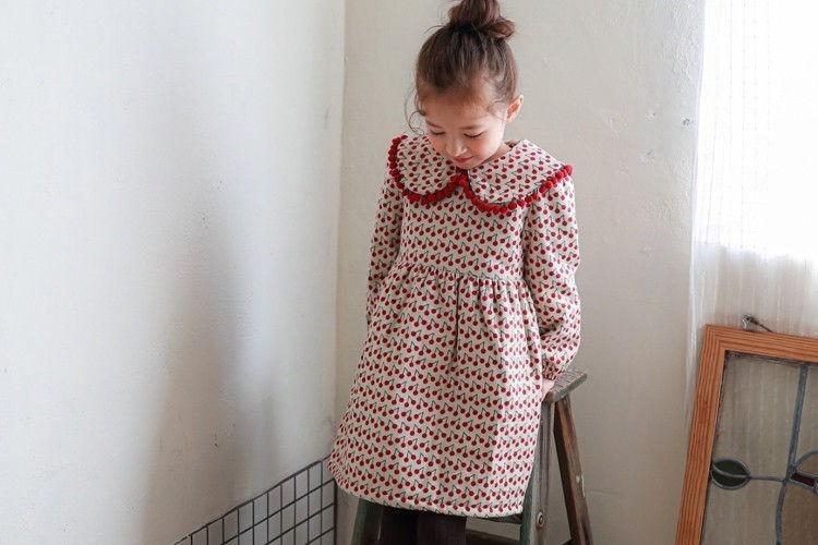 PINK BERRY - BRAND - Korean Children Fashion - #Kfashion4kids - Cherry One-piece