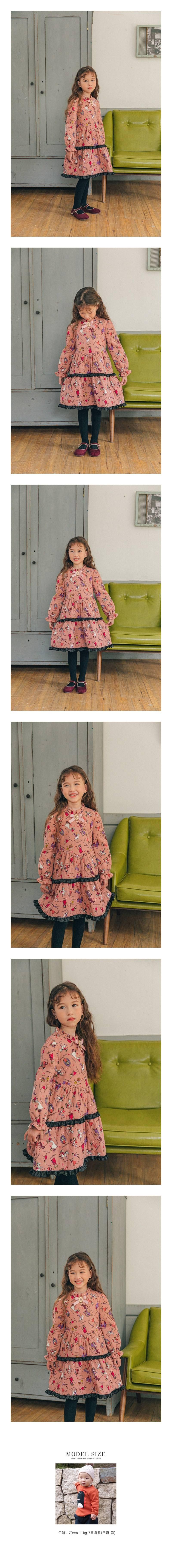 PINK BERRY - Korean Children Fashion - #Kfashion4kids - Tea Time One-piece
