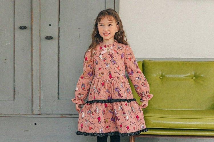 PINK BERRY - BRAND - Korean Children Fashion - #Kfashion4kids - Tea Time One-piece