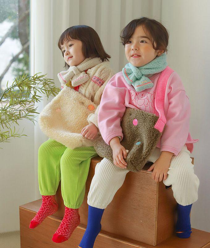 PINSON - BRAND - Korean Children Fashion - #Kfashion4kids - Bereori Dumble Bag