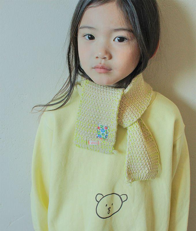 PINSON - BRAND - Korean Children Fashion - #Kfashion4kids - Bongbong Muffler