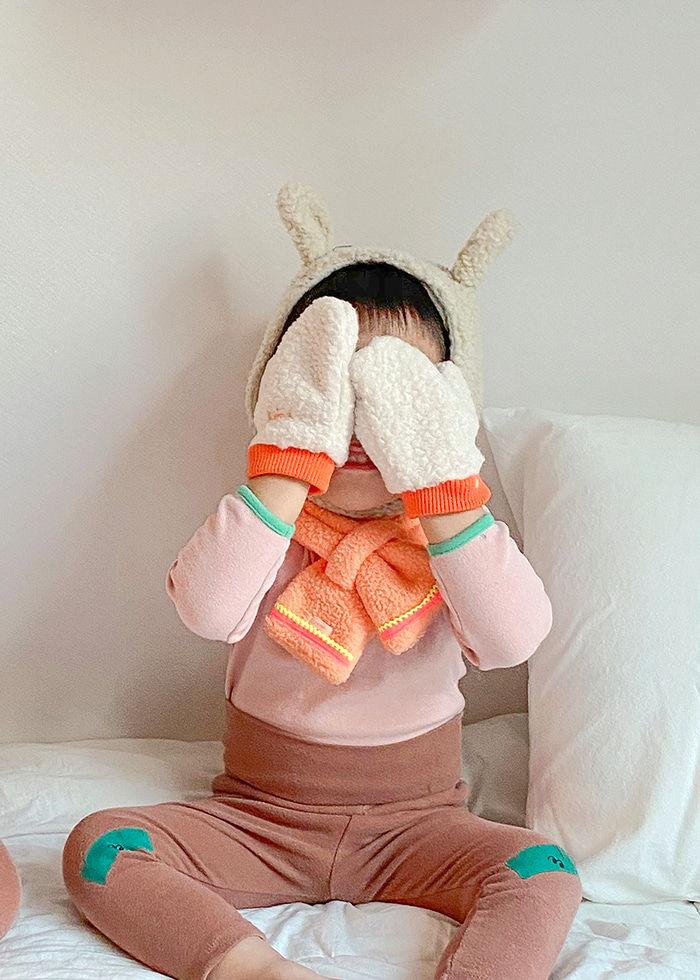 PINSON - Korean Children Fashion - #Kfashion4kids - Jutte Dumble Mittens