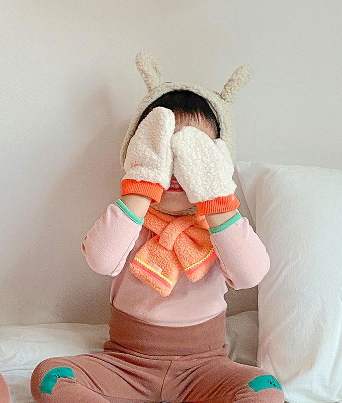 PINSON - BRAND - Korean Children Fashion - #Kfashion4kids - Jutte Dumble Mittens