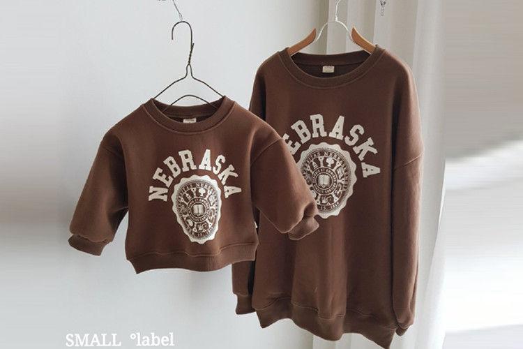 SMALL LABEL - BRAND - Korean Children Fashion - #Kfashion4kids - Mark Sweatshirt with Mom