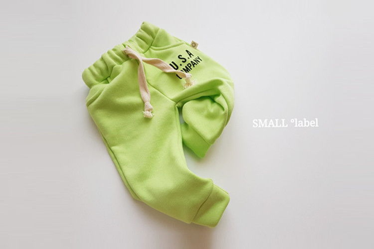 SMALL LABEL - BRAND - Korean Children Fashion - #Kfashion4kids - USA Jogger Pants