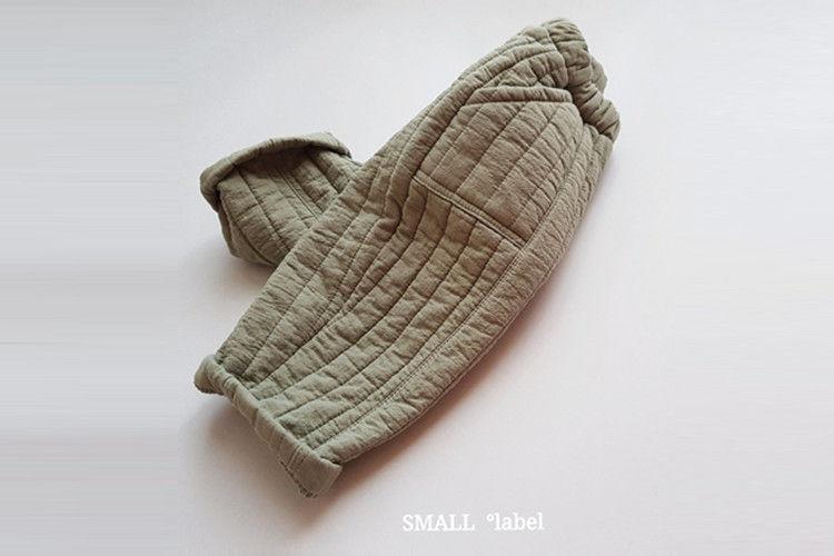 SMALL LABEL - BRAND - Korean Children Fashion - #Kfashion4kids - Quilting Pants