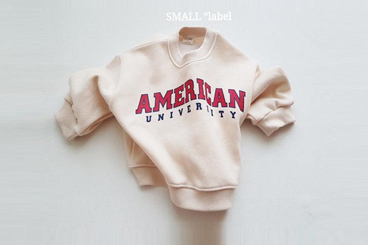 SMALL LABEL - BRAND - Korean Children Fashion - #Kfashion4kids - American Sweatshirt with Mom