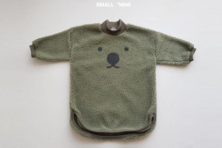 SMALL LABEL - BRAND - Korean Children Fashion - #Kfashion4kids - Bear Buckle One-piece