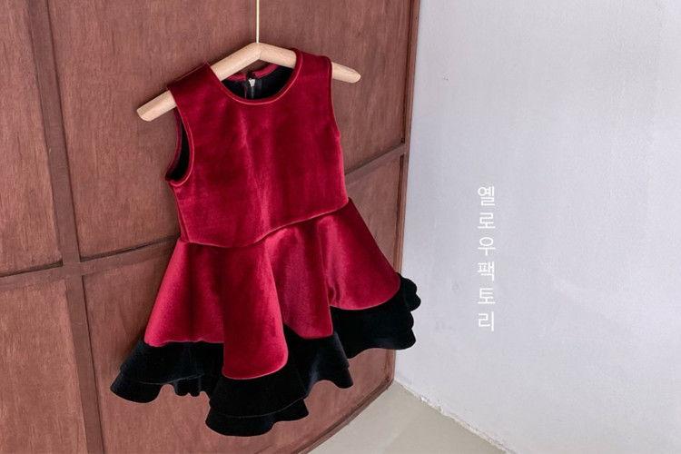 YELLOW FACTORY - BRAND - Korean Children Fashion - #Kfashion4kids - De Bong One-piece