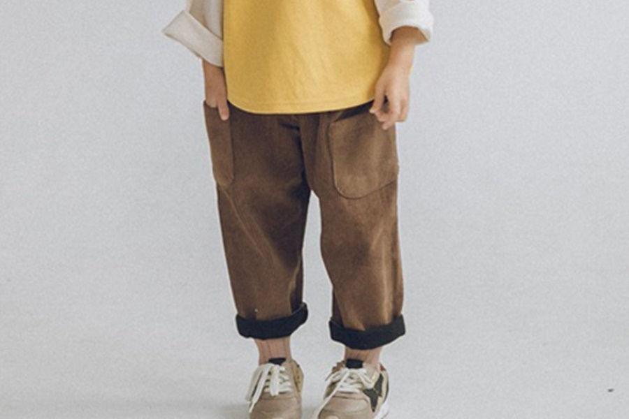 YEROOYENA - BRAND - Korean Children Fashion - #Kfashion4kids - Fleece Corduroy Pants