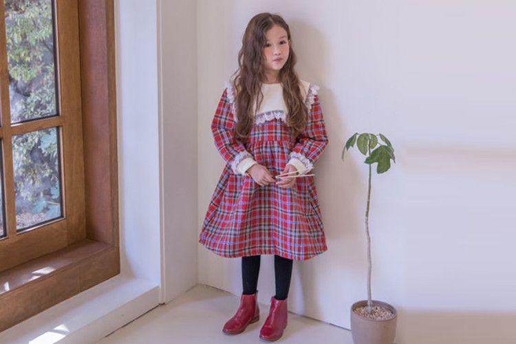 BERRY BERRY - BRAND - Korean Children Fashion - #Kfashion4kids - Check One-piece