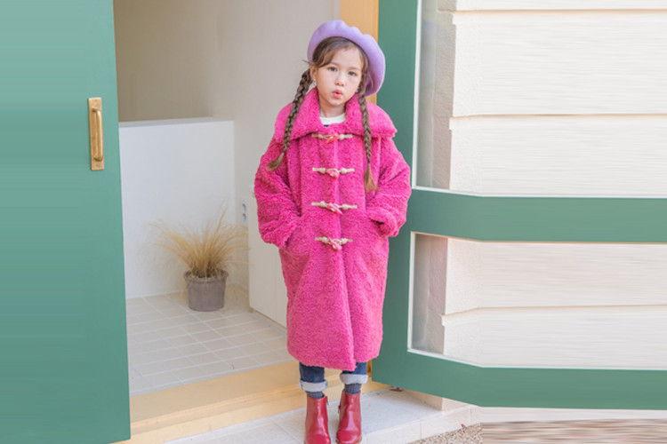 BERRY BERRY - BRAND - Korean Children Fashion - #Kfashion4kids - Low Coat