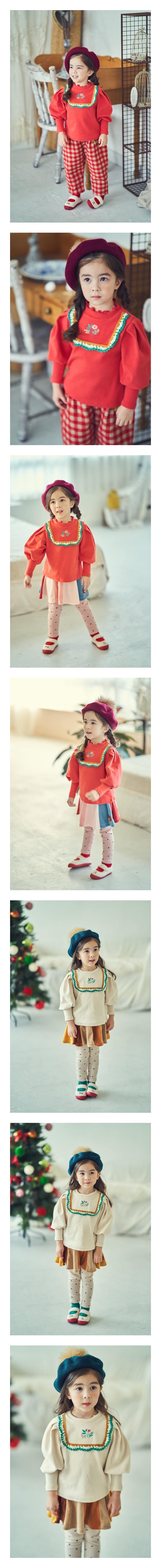 MIMICO - Korean Children Fashion - #Kfashion4kids - Flower Puff Tee