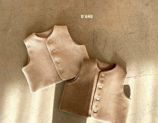 O'AHU - Korean Children Fashion - #Kfashion4kids - Winter Vest