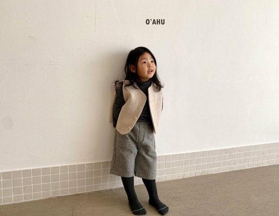O'AHU - Korean Children Fashion - #Kfashion4kids - Winter Vest - 3