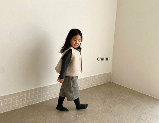 O'AHU - Korean Children Fashion - #Kfashion4kids - Winter Vest - 5