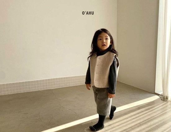 O'AHU - Korean Children Fashion - #Kfashion4kids - Winter Vest - 6