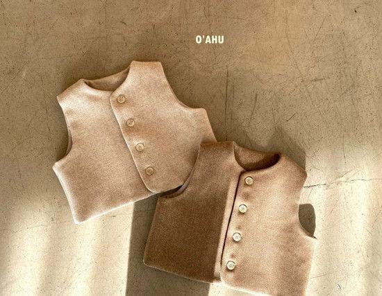 O'AHU - BRAND - Korean Children Fashion - #Kfashion4kids - Winter Vest