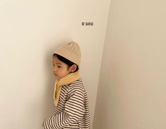 O'AHU - Korean Children Fashion - #Kfashion4kids - Thick Peach Turtleneck Tee - 5