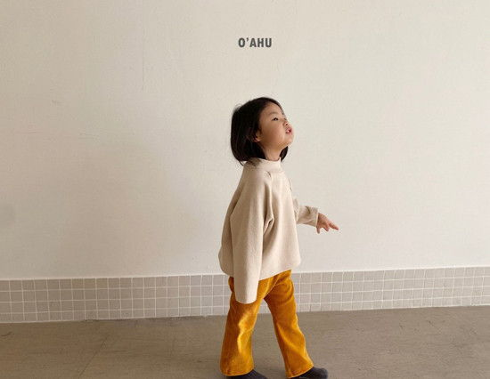 O'AHU - Korean Children Fashion - #Kfashion4kids - Thick Peach Turtleneck Tee - 6